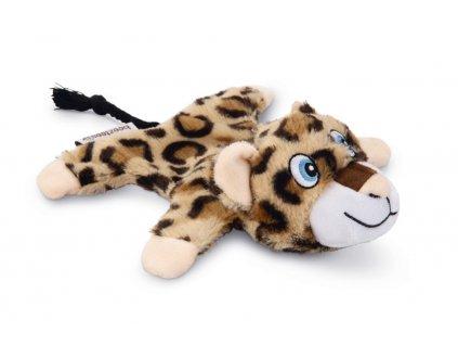 Plyšová hračka pro psy Leopard BEEZTEES