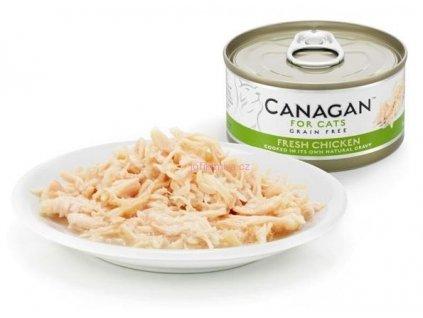 Canagan konzerva čerstvé kuře 75 g