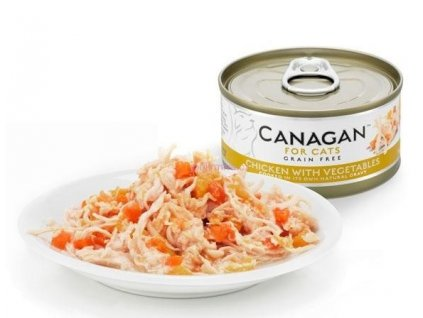 Canagan konzerva kuře se zeleninou 75 g