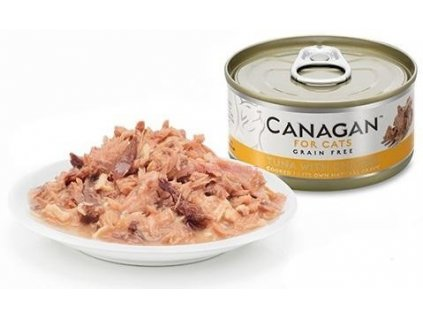 Canagan konzerva tuňák a kuře 75 g