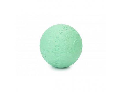 Puppy gumový míček BEEZTEES modrý
