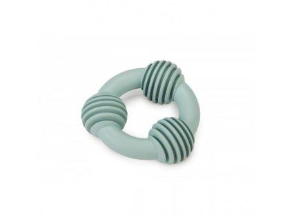 Gumový dentální kroužek BEEZTEES modrý