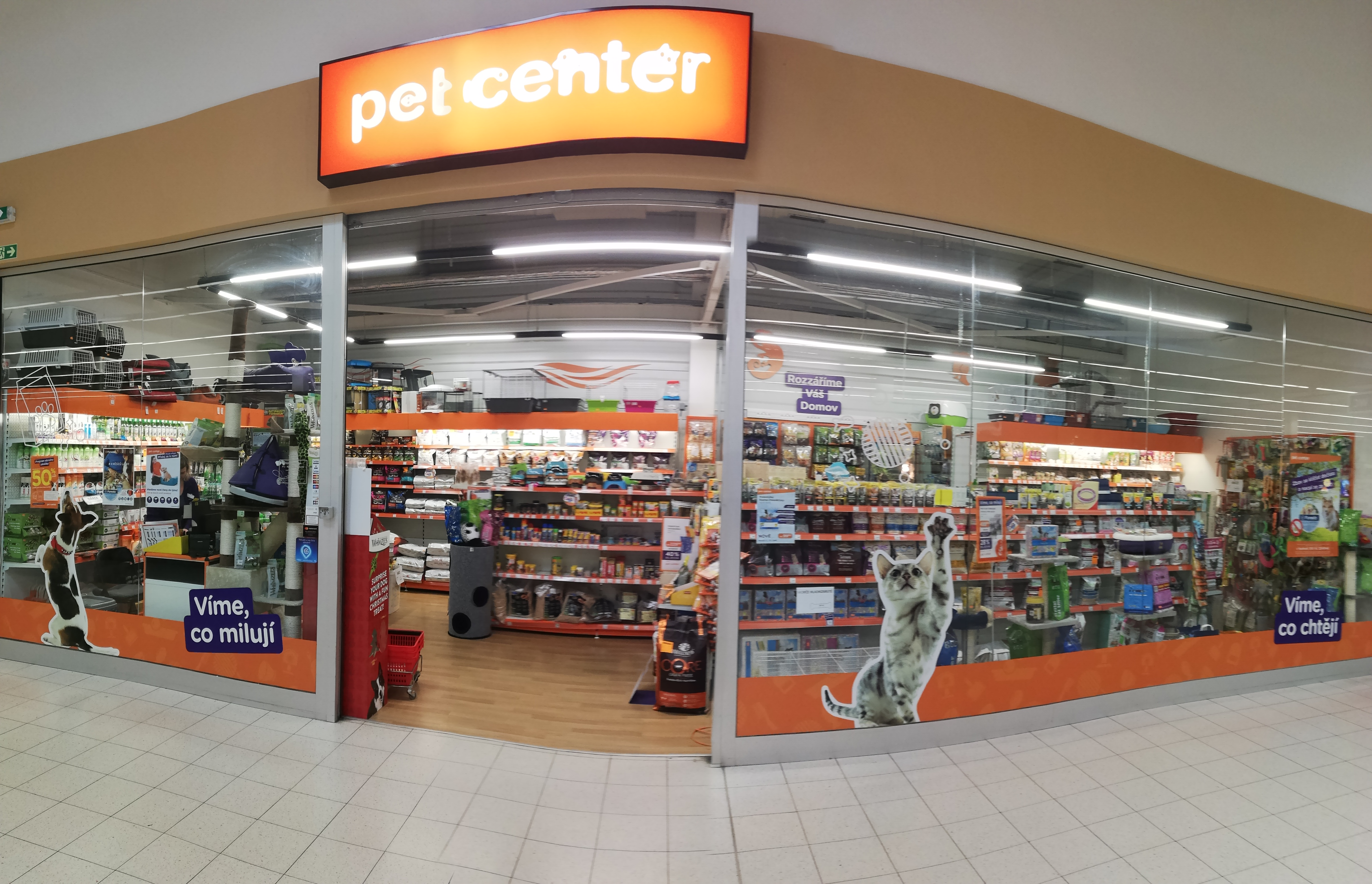 Pet Center Písek Tesco