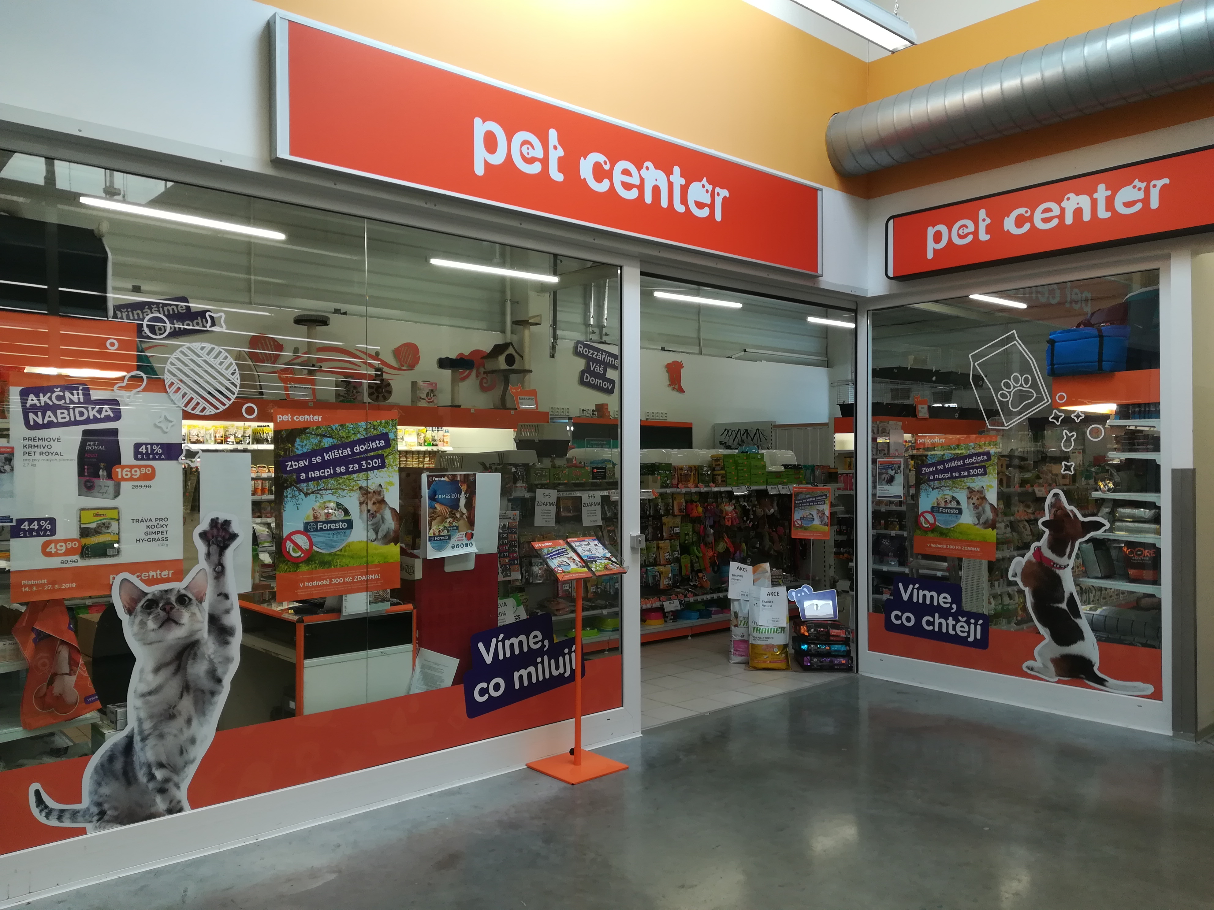 Pet Center Uherský Brod Tesco