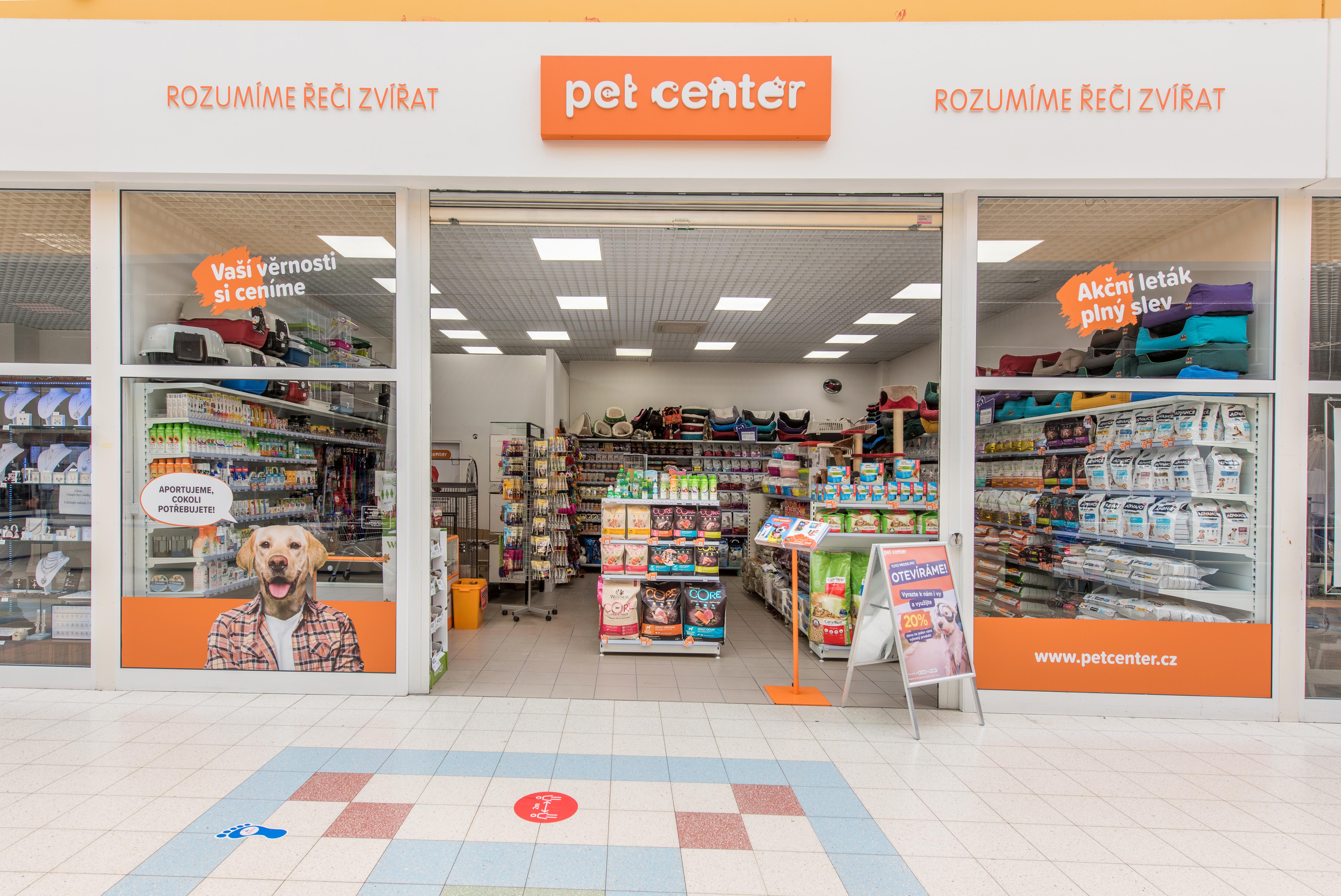 Pet Center České Budějovice Tesco