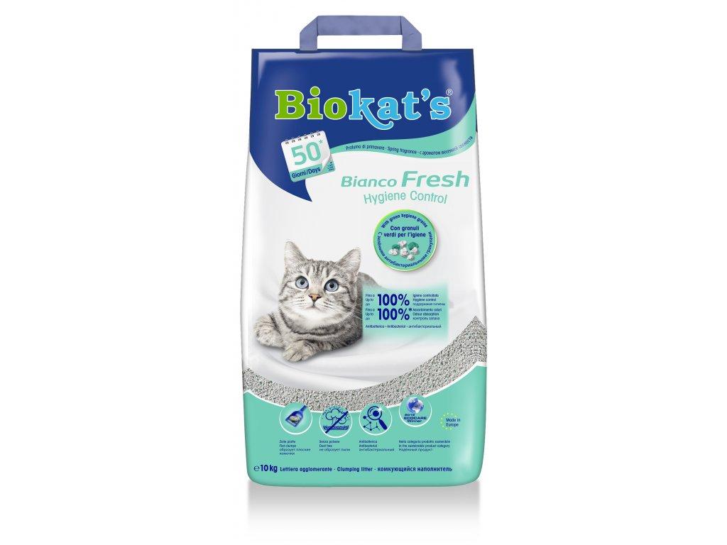 Biokat's Bianco Fresh Control podestýlka 10kg