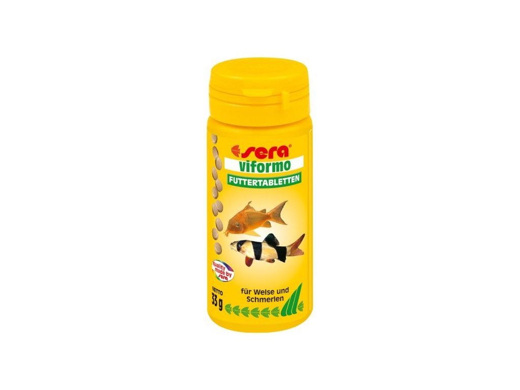 Sera základní krmivo pro sumečky a mřenky Viformo 50 ml