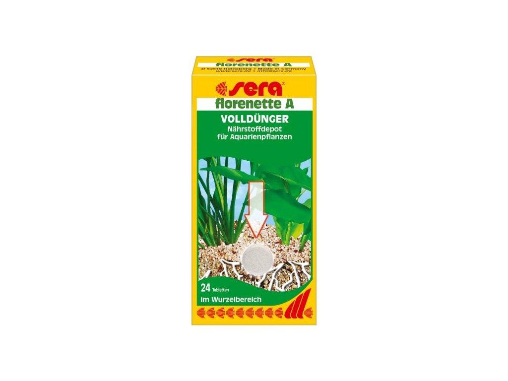Sera hnojivo pro vodní rostliny Florenette A 24tbl.