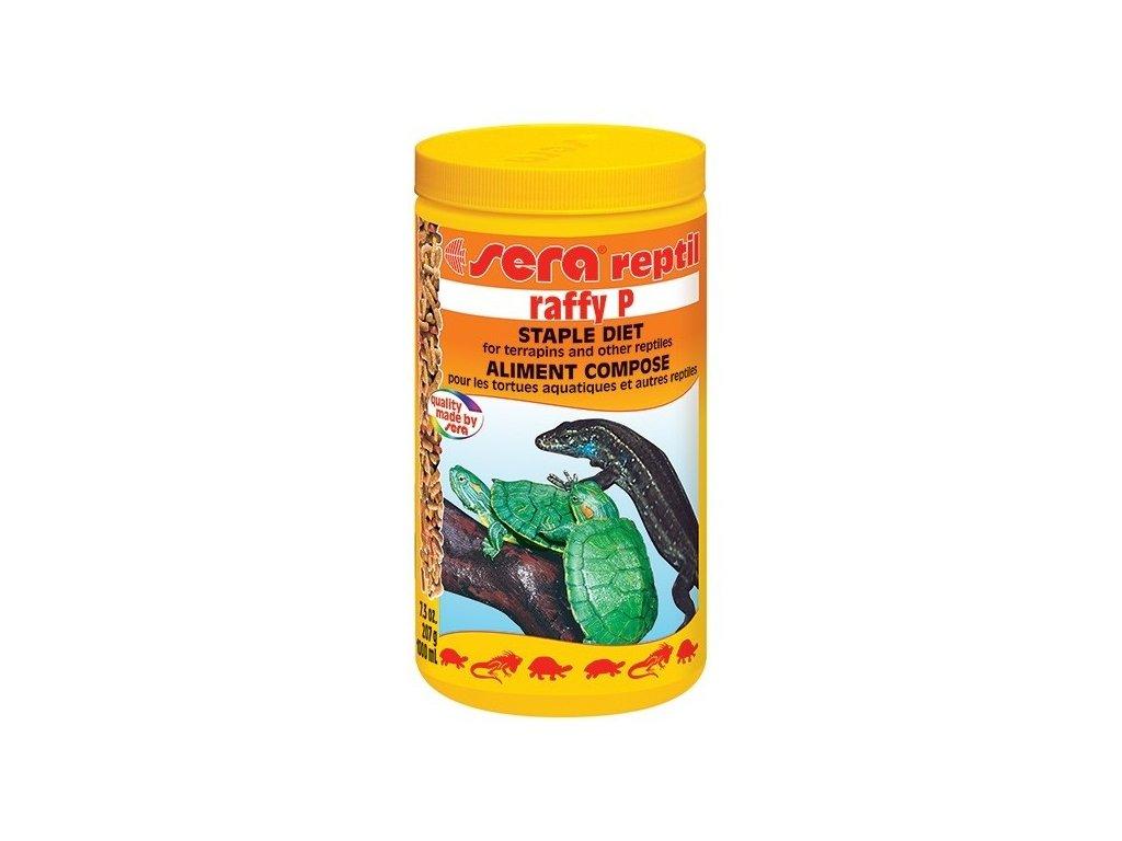 Sera krmivo pro vodní želvy Raffy P 1000 ml