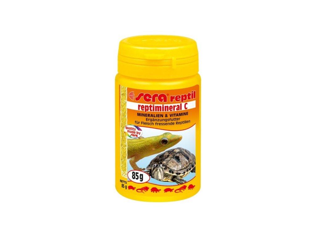 Sera doplňkové krmivo pro masožravé plazy Reptimineral C 100ml