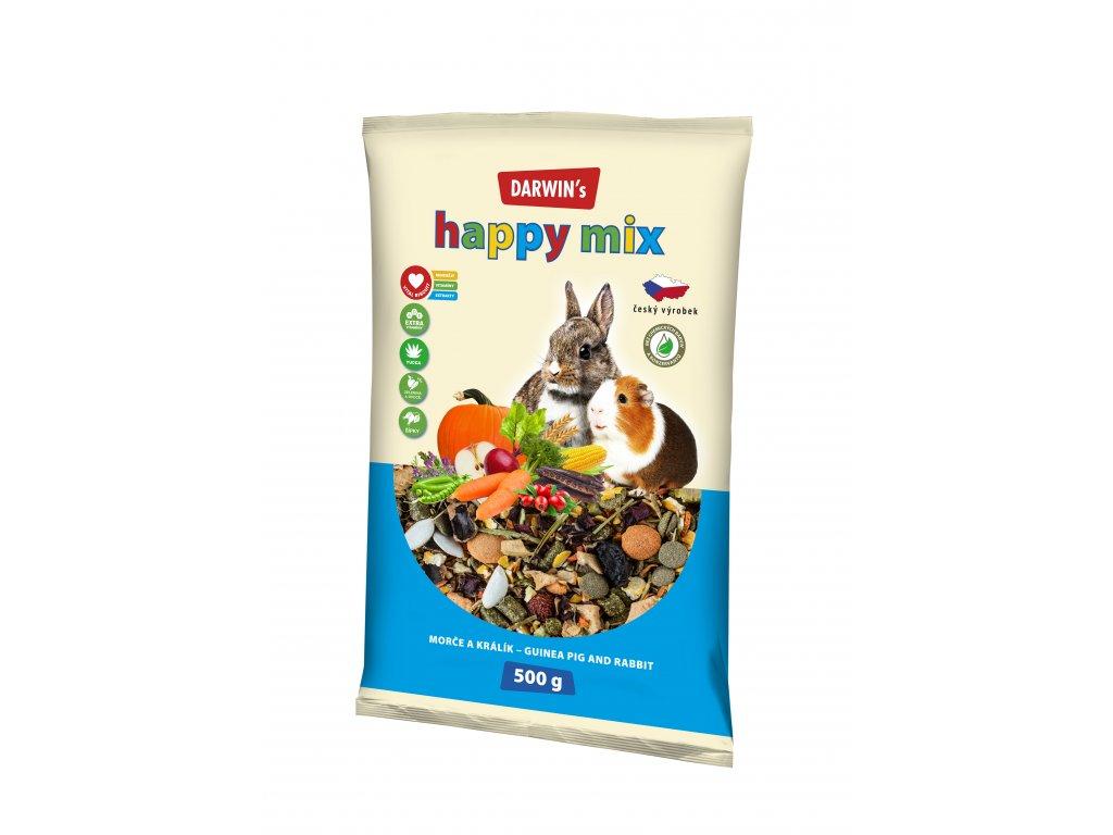 Darwin's happy mix morče a králík 500 g