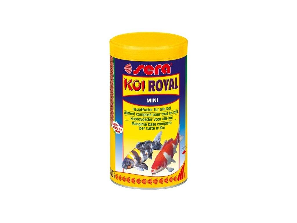 Sera základníé krmivo pro koi a iostatní jezírkové ryby Koi Royal Mini 1l