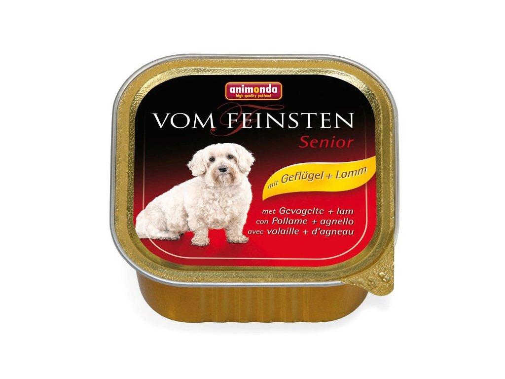 Animonda Vom Feinsten Senior paštika pro psy kuřecí+jehně 150g