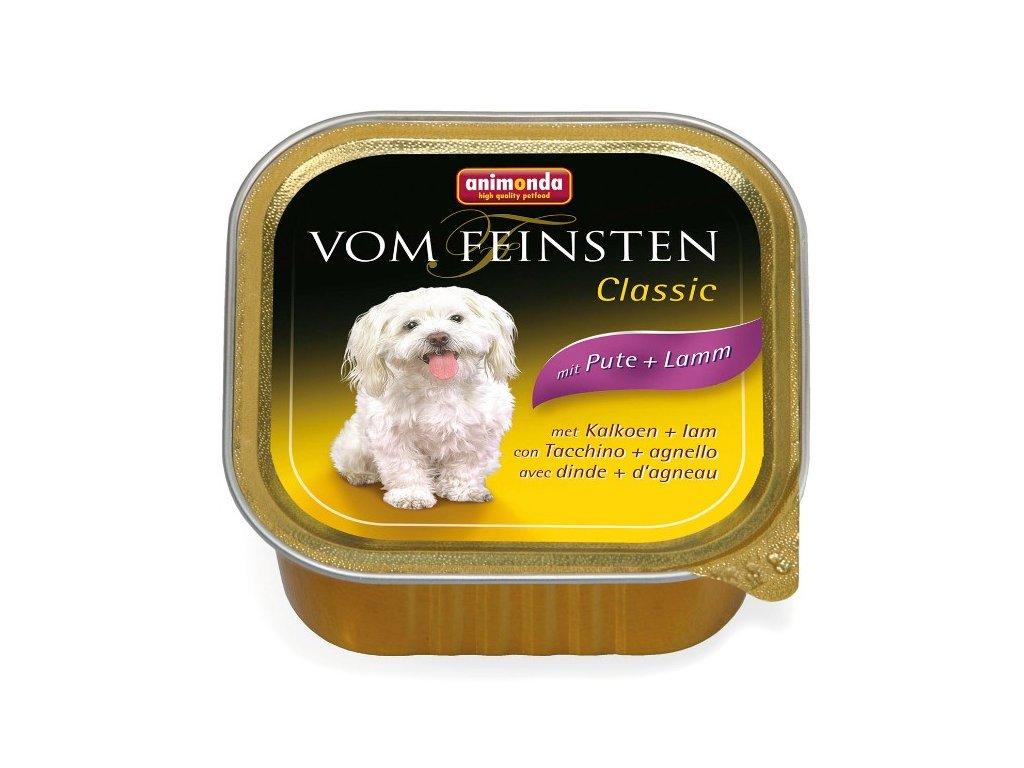 Animonda Vom Feinsten Classic paštika pro psy krůtí+jehně 150g