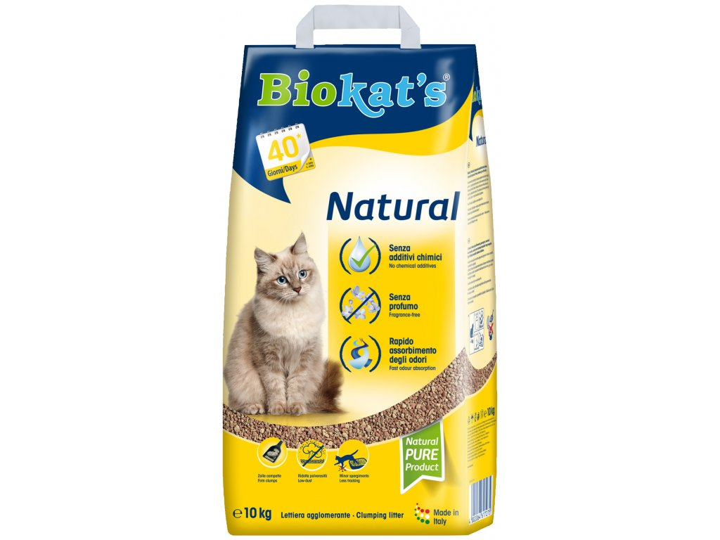 Biokat's Natural podestýlka 10 kg