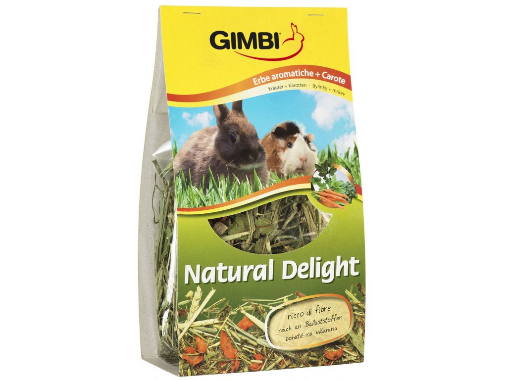 Gimborn Natural Delight bylinky+mrkev 100g