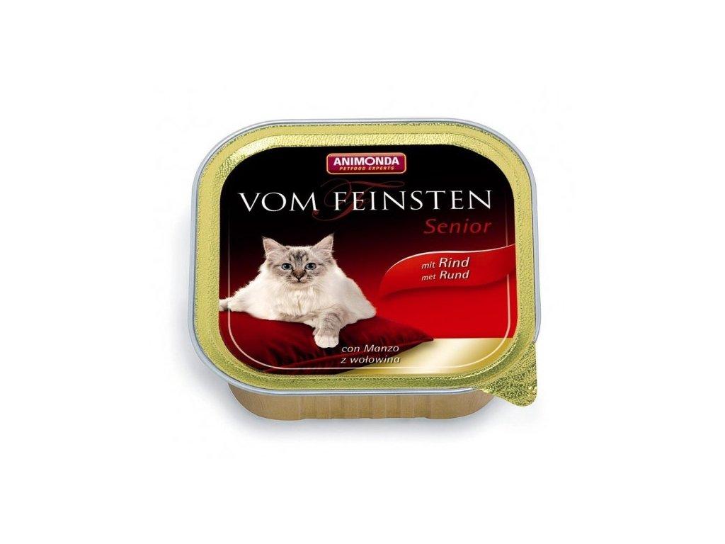 Animonda Vom Feinsten Senior paštika pro starší kočky hovězí 100g