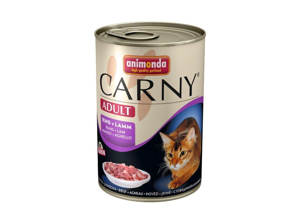 Animonda Carny konzerva pro kočky hovězí+jehně 200g