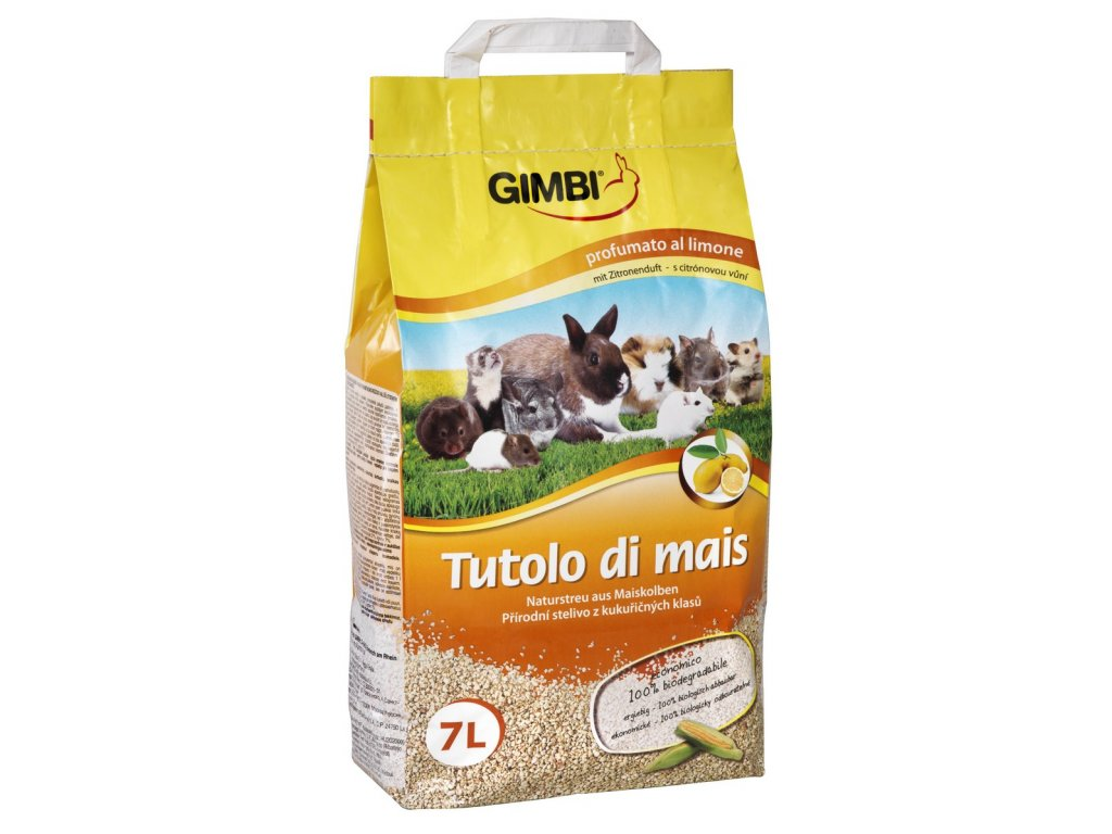 Kukuřičná podestýlka Gimbi 7 l
