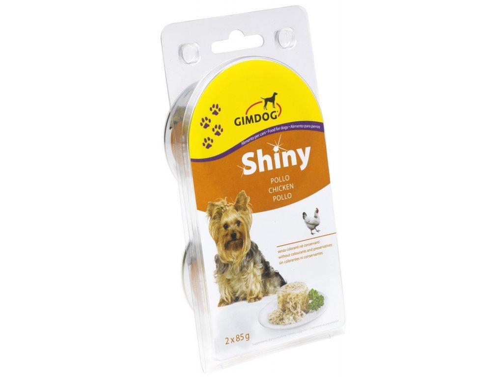 Shiny Dog konzerva kuřecí 2 x 85 g