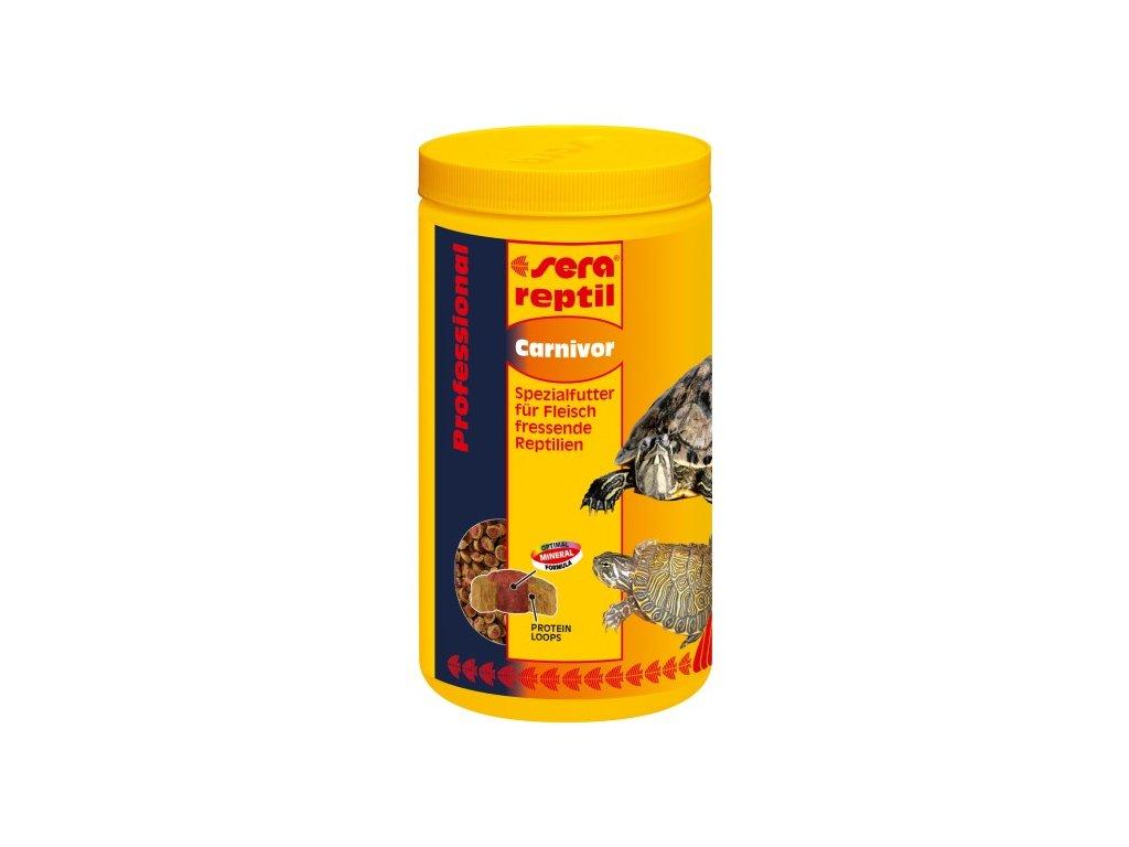Sera doplňkové krmivo pro masožravé plazy Reptil Professional Carnivor 1000ml