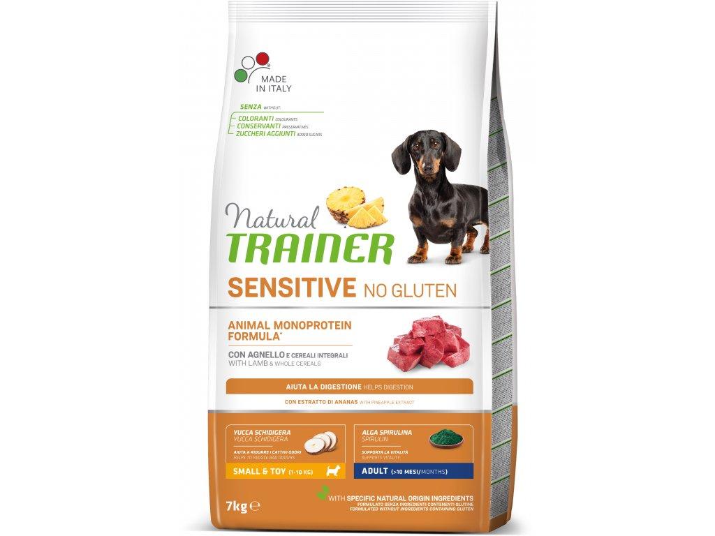 Trainer Sensitive No Gluten Adult Mini jehně&rýže 7kg