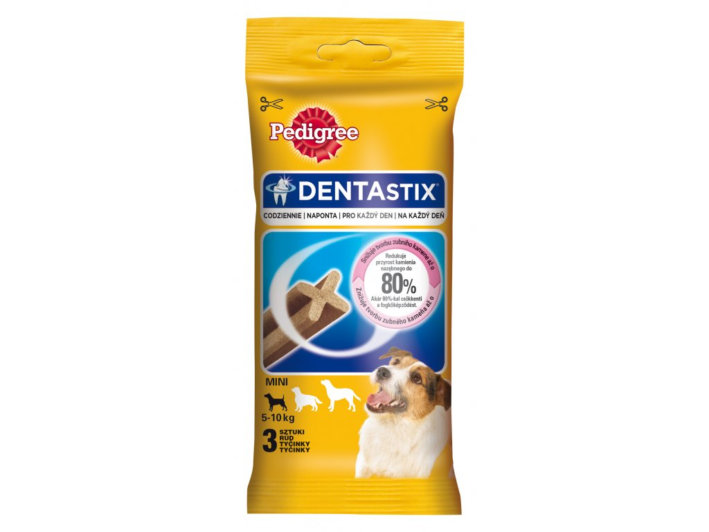 PEDIGREE pochoutky DENTA Stix SMALL 3pack 45g