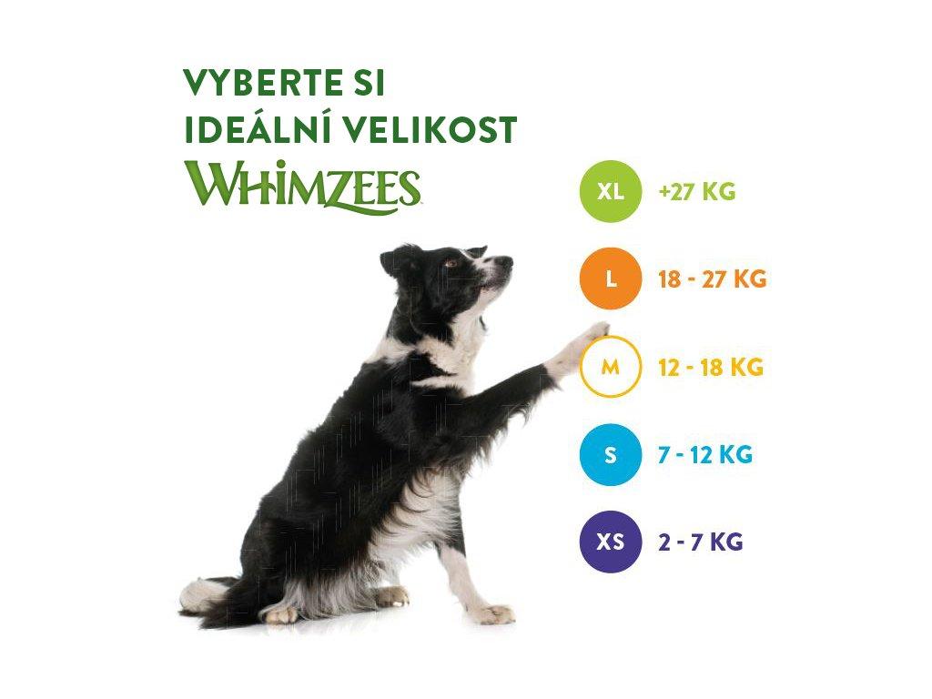 WHIMZEES Dental Stix XS 7,5g 48 + 8 ks