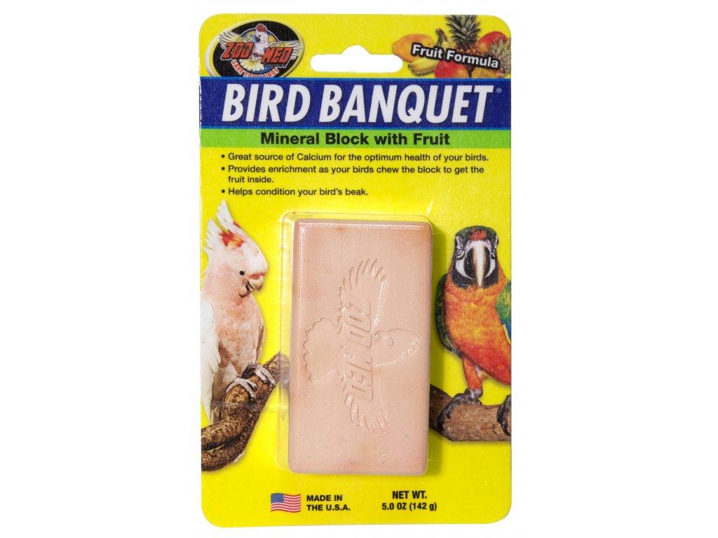 Bird Banquet minerální blok s ovocem L