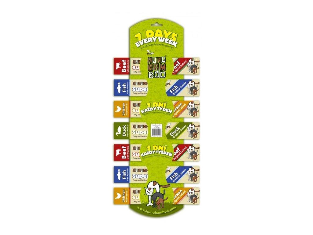 Huhubamboo Superstick Cat 7 Days 7x12g
