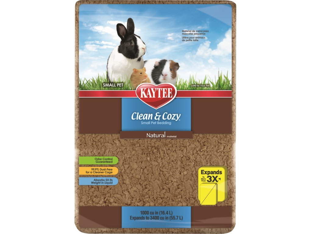 Podestýlka Kaytee CLEAN&COZY NATURAL 12.3L