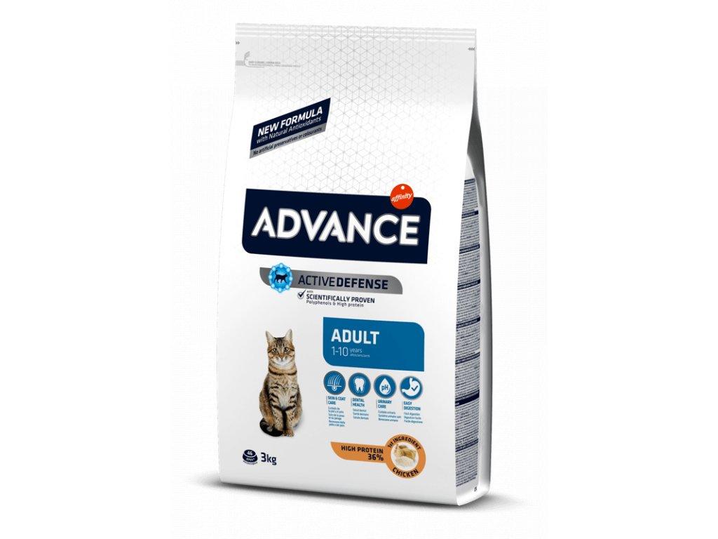 ADVANCE CAT Adult kuře a rýže 3 kg