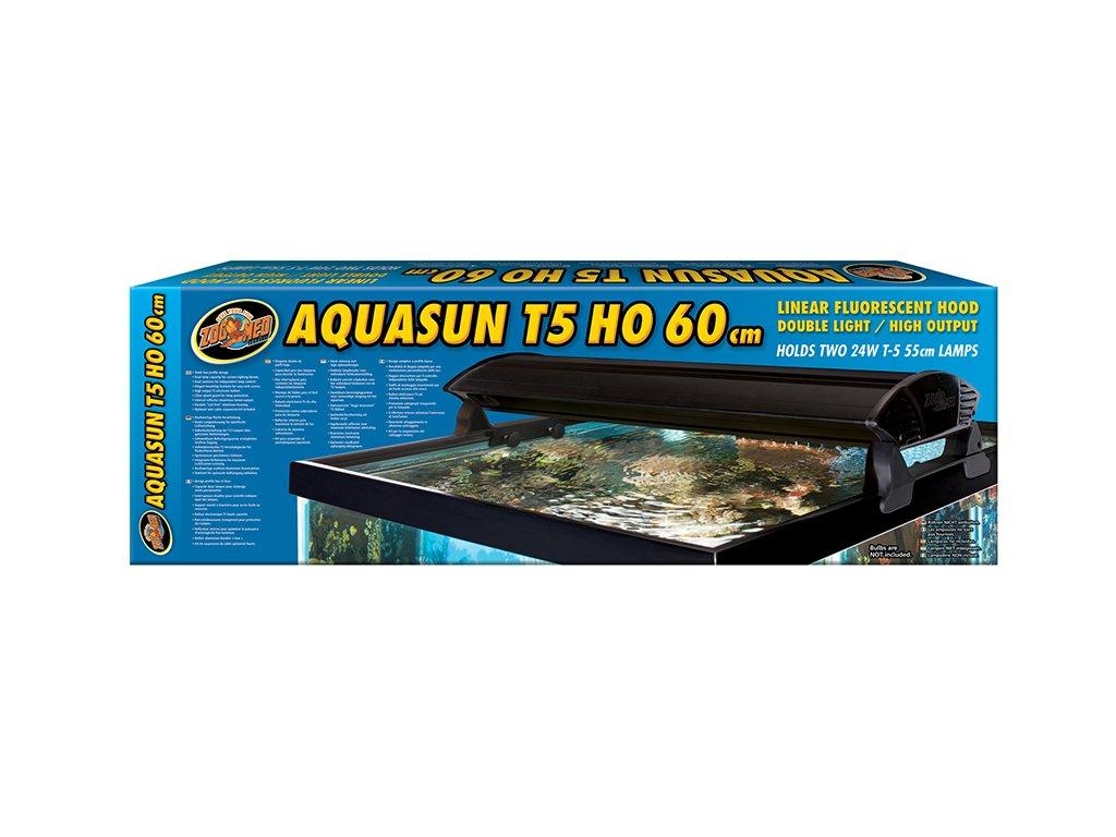 "ZooMed kryt AquaSun T5 """"High Output"""" 2x24W/60cm"""