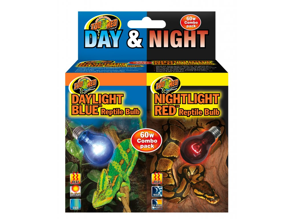 ZooMed žárovka Day/Night Reptile Bulb Combo