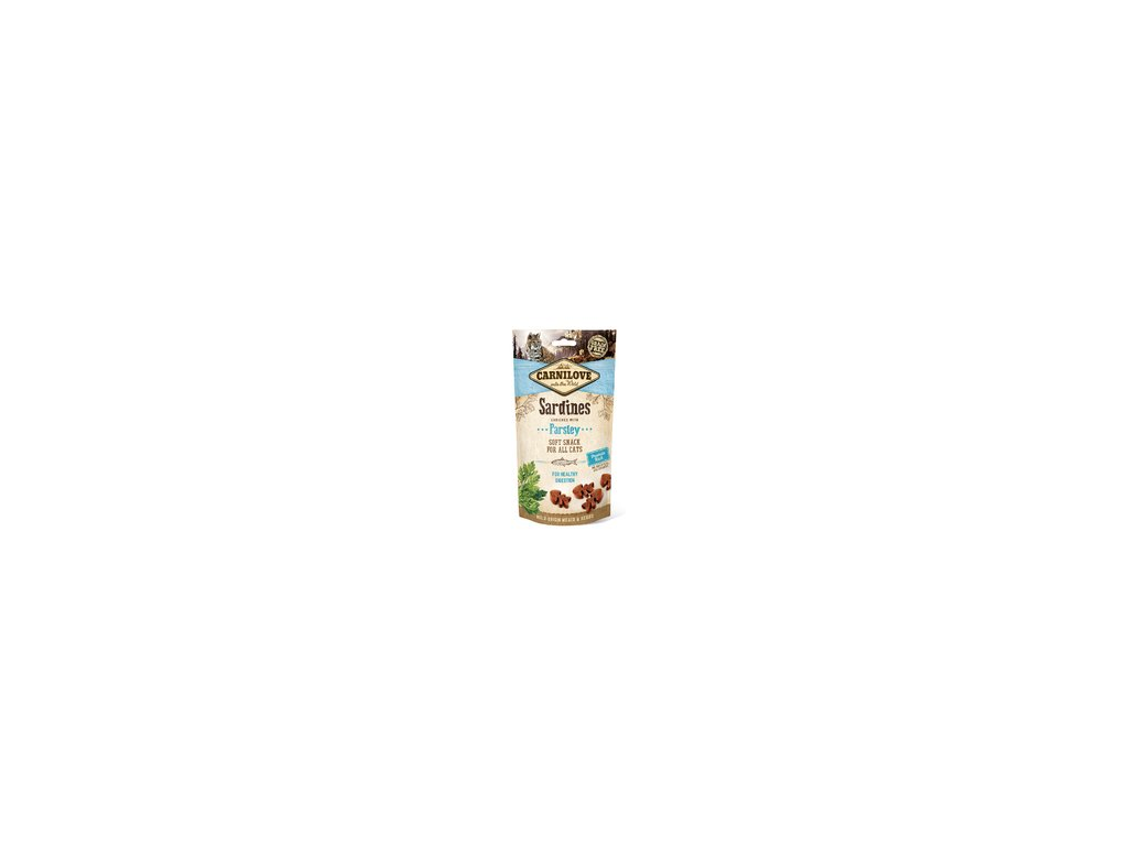Carnilove Cat Semi Moist Snack Sardine with Parsley 50g