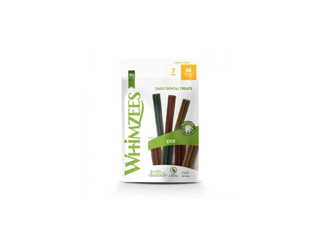 WHIMZEES Dental Stix M 7 kusů 30g