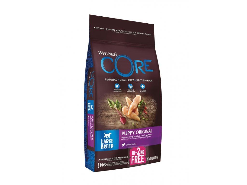 Wellness Core Dog LB Puppy kuře 10+2kg
