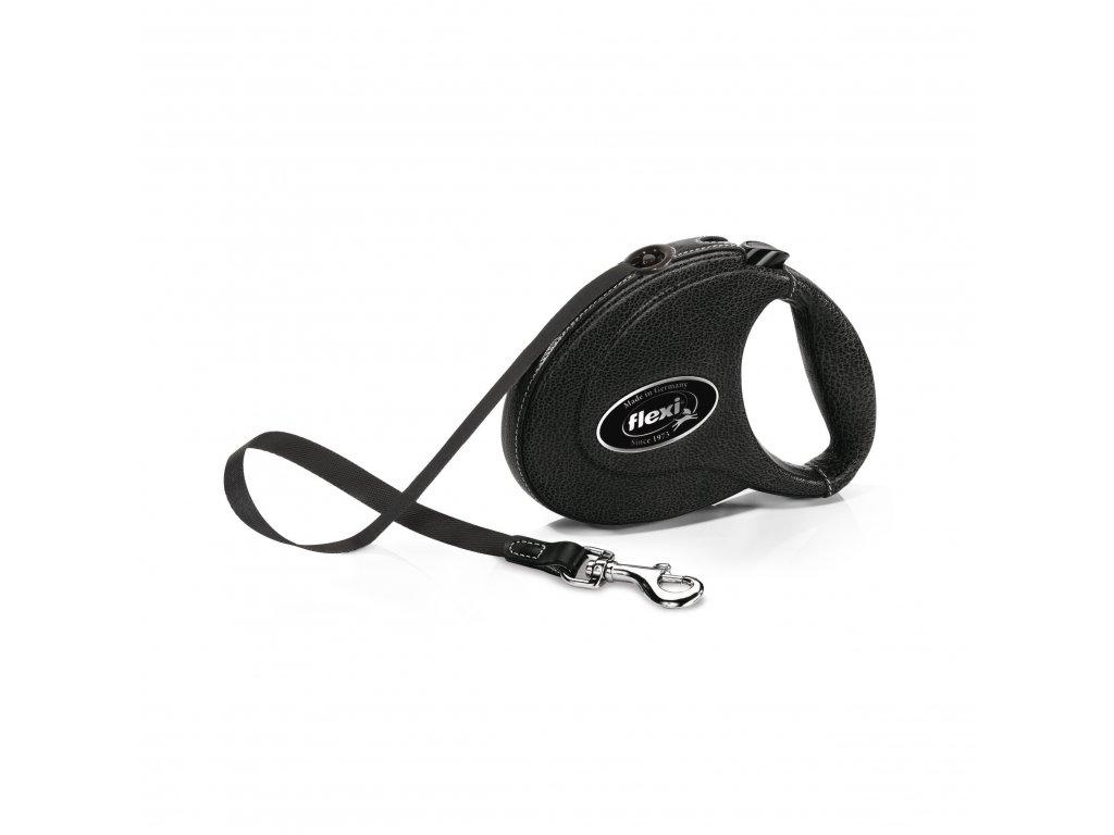 Flexi Leather M páska 5m/25 kg černé