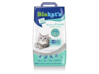 Biokat's Bianco Fresh Control podestýlka 10 kg