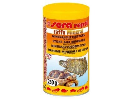 Sera krmivo pro masožravé plazy Raffy Mineral 1000ml