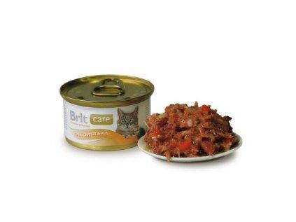 Brit Care konzerva Tuna&Carrot&Pea 80g