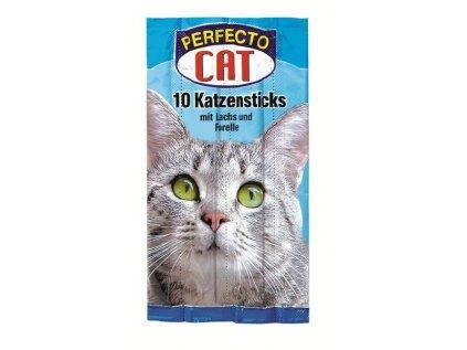 Perfecto Cat Jerkys losos+pstruh 10ks