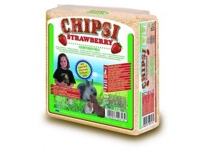Cat's Best Chipsy Strawberry podestýlka 15 l