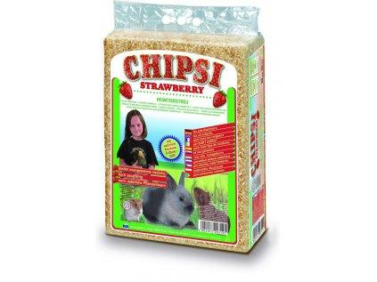 Cat's Best Chipsy Strawberry podestýlka 60 l