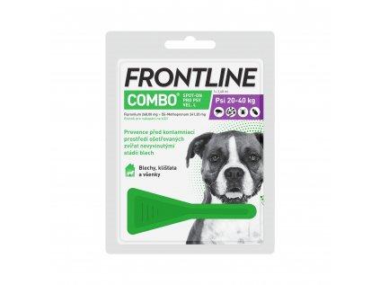 Frontline spot-on Combo pro psy L (20-40 kg)