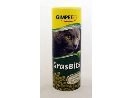 Gimpet Gras Bits tablety s kočičí trávou 425g
