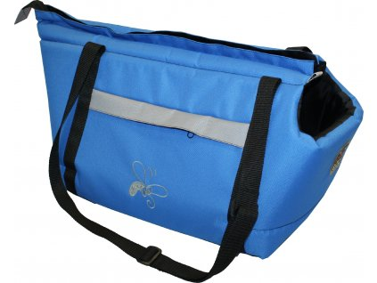 Huhubamboo taška modrá+šedá M