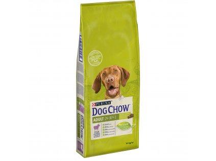 Dog Chow Adult jehněčí s rýží 14 kg