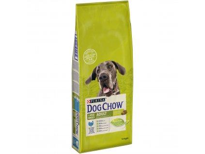 Dog Chow Adult krůtí pro velká plemena 14kg