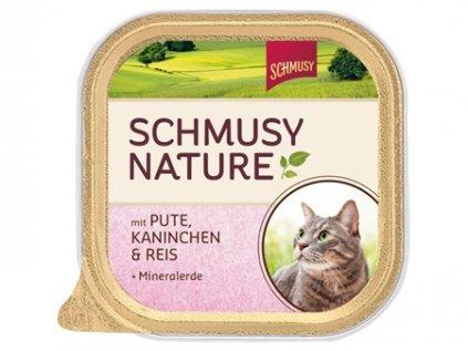 Finnern Schmusy Nature paštika krůta + králík 100 g